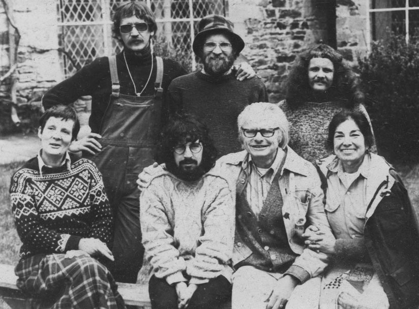Charles gray activist bio charles and dorothy with the european fasters solange fernex seated at the left in the front row went on to become a minister in the french government publicscrutiny Image collections